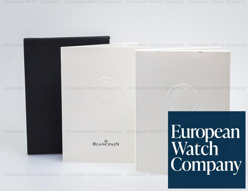 Blancpain 2125-1127-71 Leman Tourbillon 8 Day Power Reserve White Dial SS Automatic