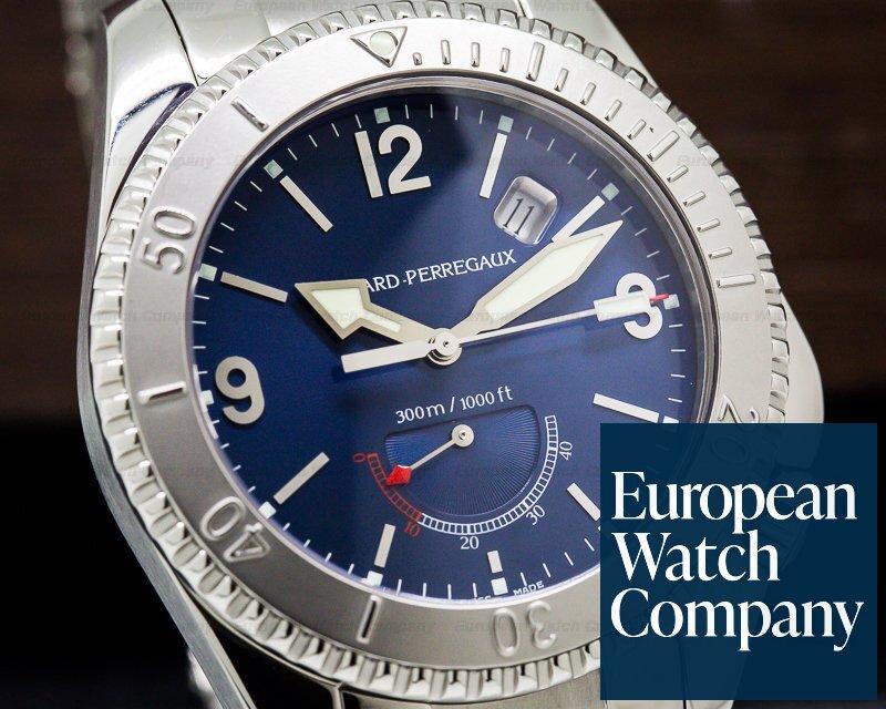 Girard Perregaux 49920-11-451-11A Sea Hawk II Blue Dial SS