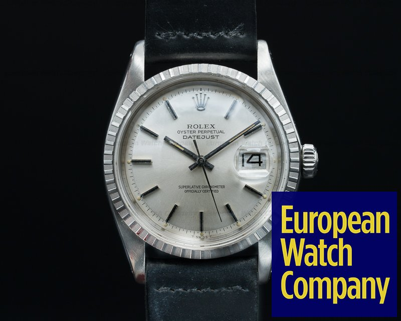 Rolex 1603 Oyster Perpetual Datejust Steel / Silver Dial