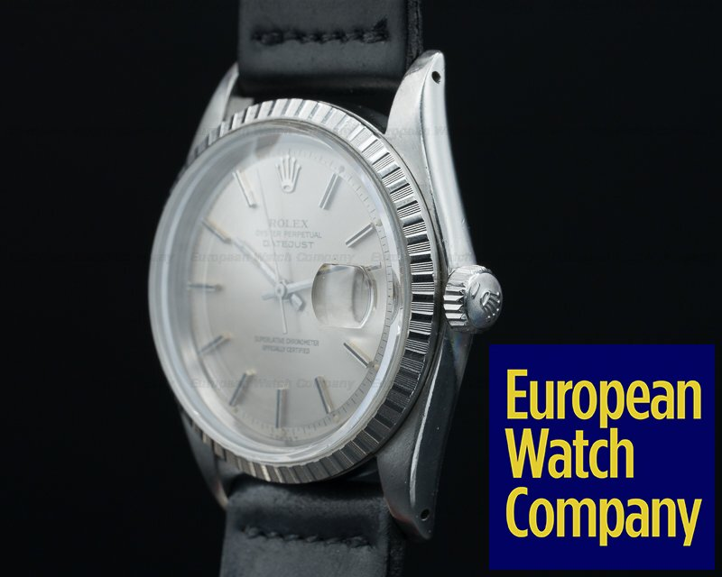 27440 Rolex 1603 Oyster Perpetual Datejust Steel Silver Dial