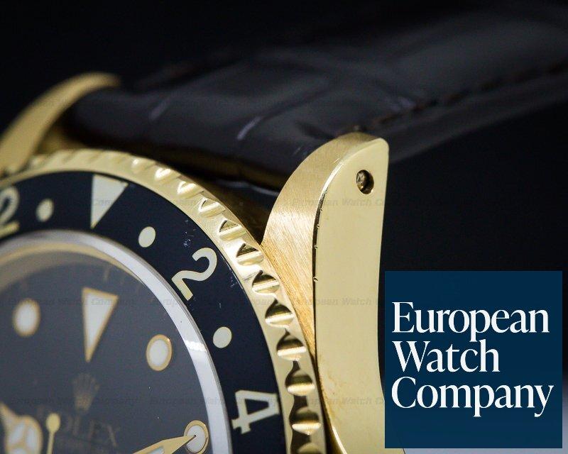 Rolex 16718 GMT Master II 18k Yellow Gold / Sharp