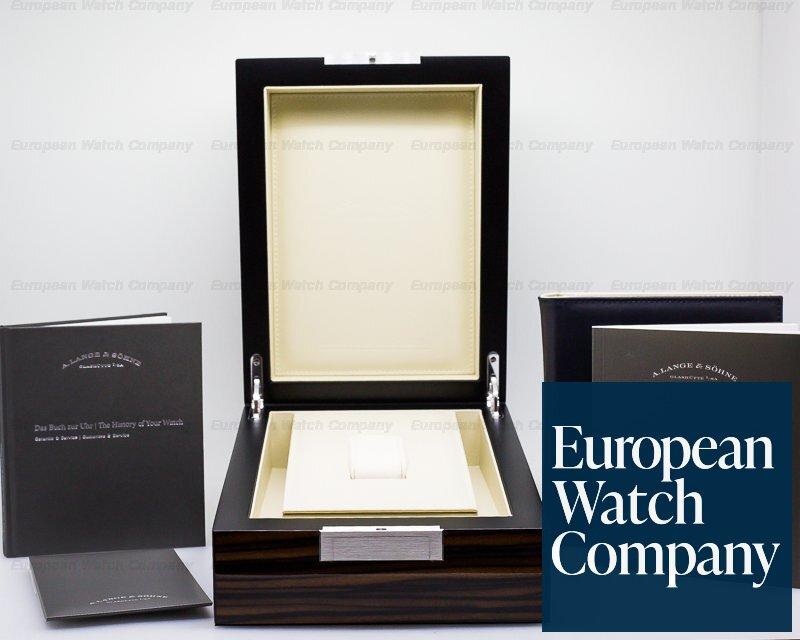 A. Lange and Sohne 260.028 Richard Lange Pour Le Merite 18K White Gold LIMITED
