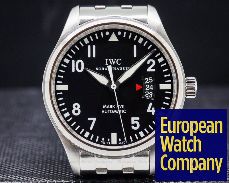 IWC IW326504 Mark XVII Black Dial SS / SS