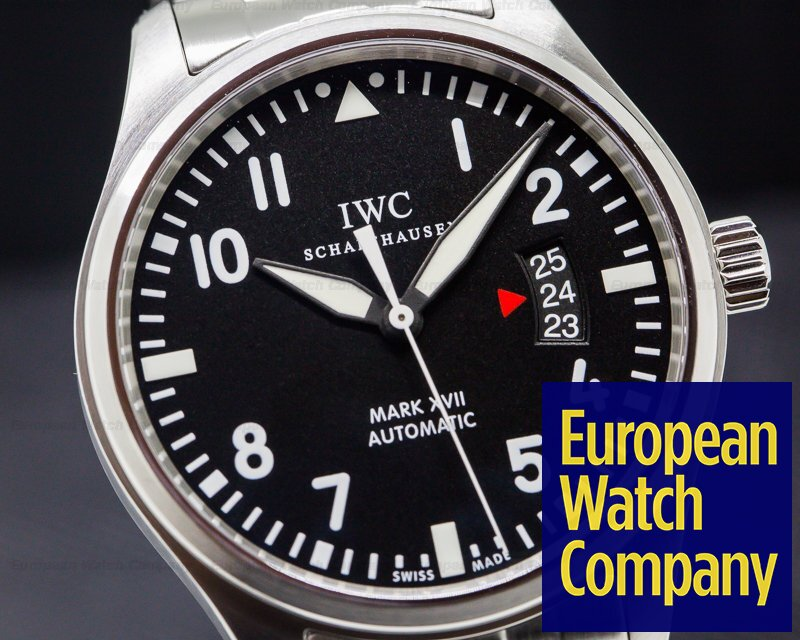 IWC IW326504 Mark XVII Black Dial SS / SS