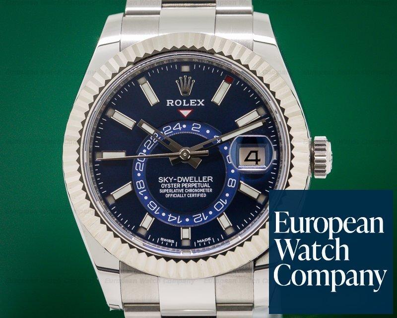 Rolex 326934 Sky Dweller Steel Blue