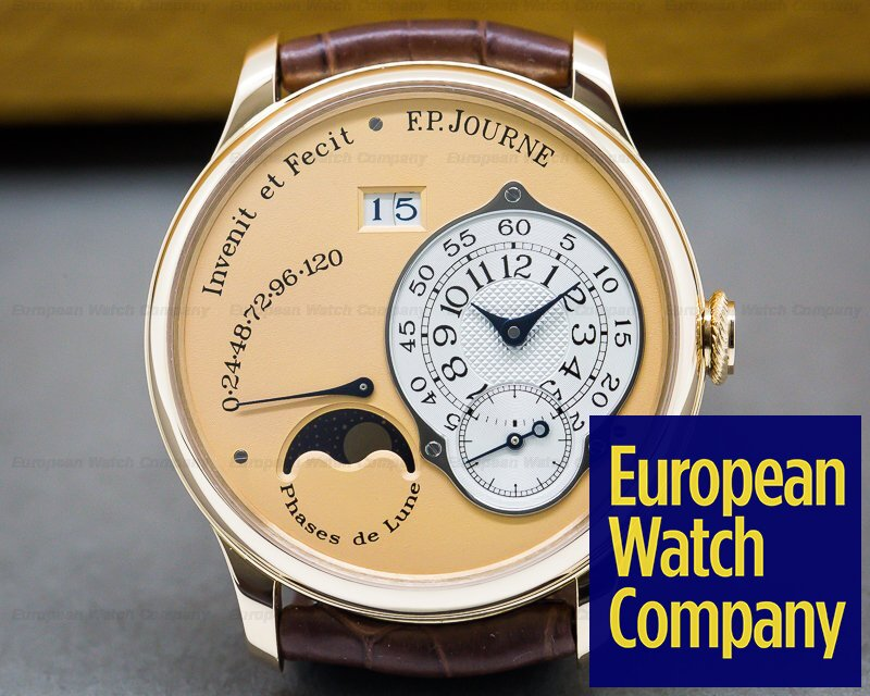F. P. Journe Octa Lune Octa Lune Automatic 18k Rose Gold / Rose Dial 38MM DEPLOY