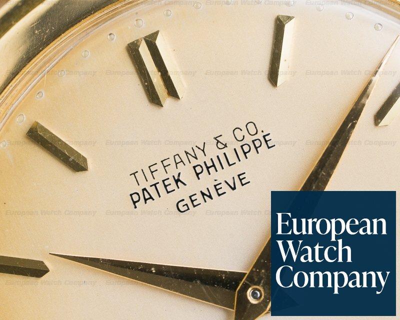 Patek Philippe 2552 Calatrava 2552 TIFFANY & CO 'DISCO VOLANTE' 18K Yellow / Bracelet