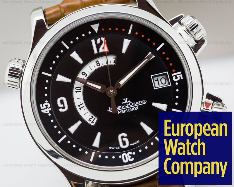 Jaeger LeCoultre 146.8.97/1 Master Compressor Memovox SS / Leather