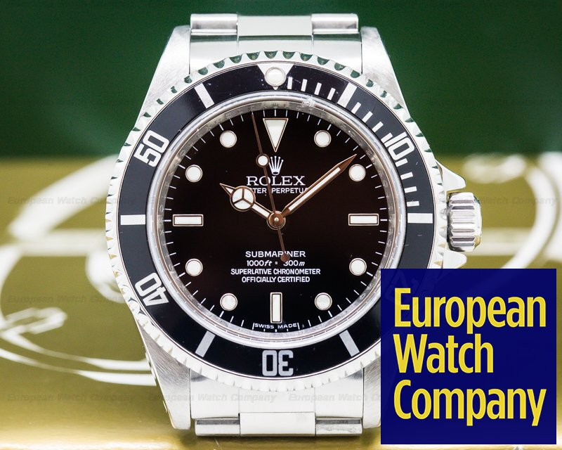 Rolex 14060M Submariner No Date SS
