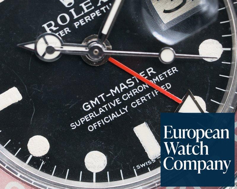 "Rolex 1675 Vintage GMT Master ""Pepsi Bezel"" SS / Jubilee Circa 1978"