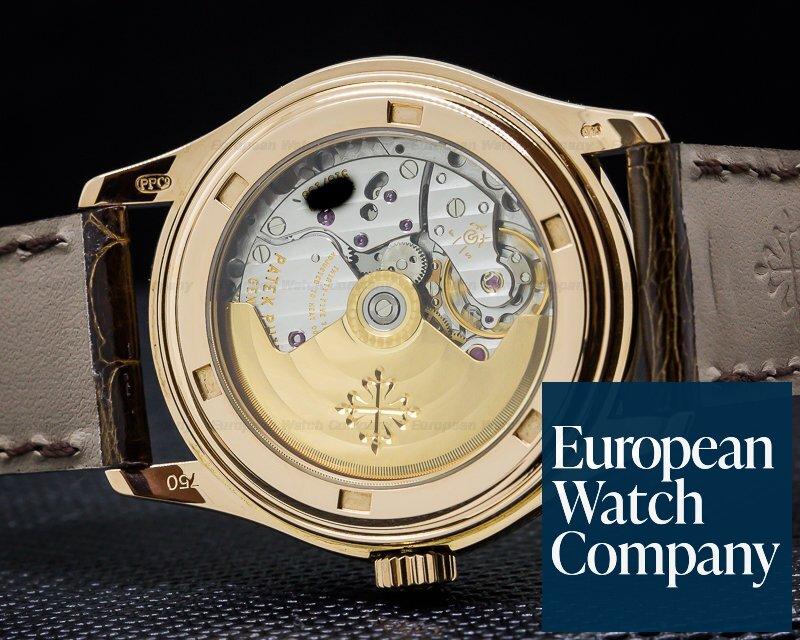 Patek Philippe 5035R-001 Annual Calendar 18K Rose Gold Silver Dial