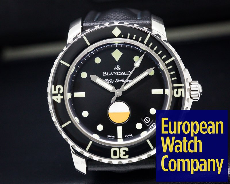 Blancpain 5008-1130-B52A Tribute to Fifty Fathoms Mil-Spec SS LIMITED
