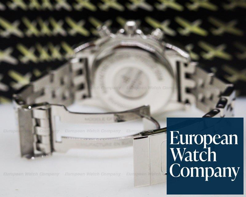 Breitling AB014012 Chronomat 41 Silver Dial SS / SS Bracelet