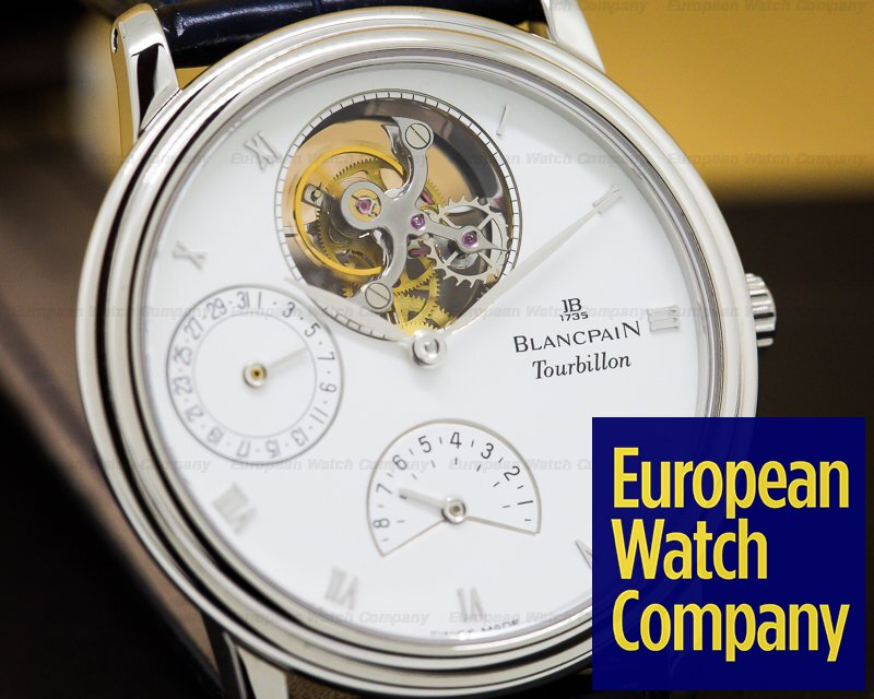 Blancpain 0023 Tourbillon Platinum Manual Wind 8 Days