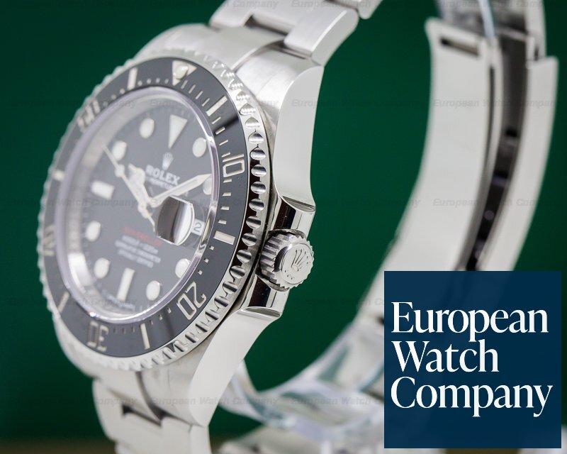 27609 Rolex 126600 Sea Dweller Red 43mm 50th Anniversary Ss
