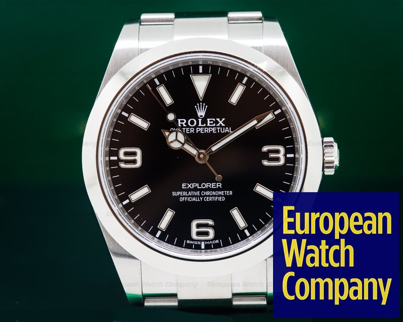 Rolex 214270 Explorer I 39MM *NEW MODEL* SS / SS