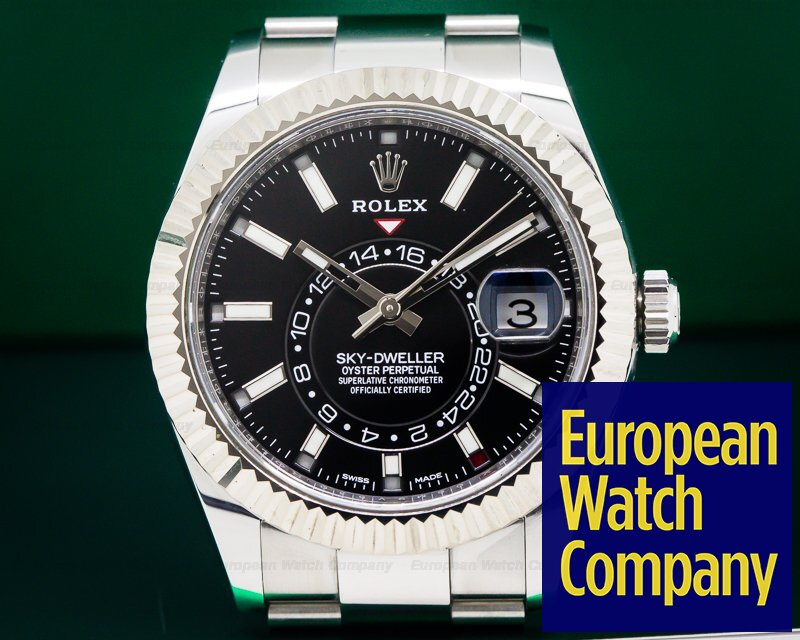 Rolex 326934 Sky Dweller Steel Black