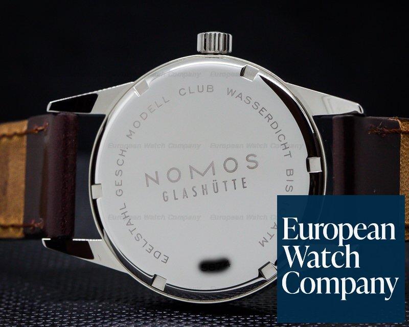 Nomos 701 Club Manual Wind Silver Dial SS / Leather UNWORN
