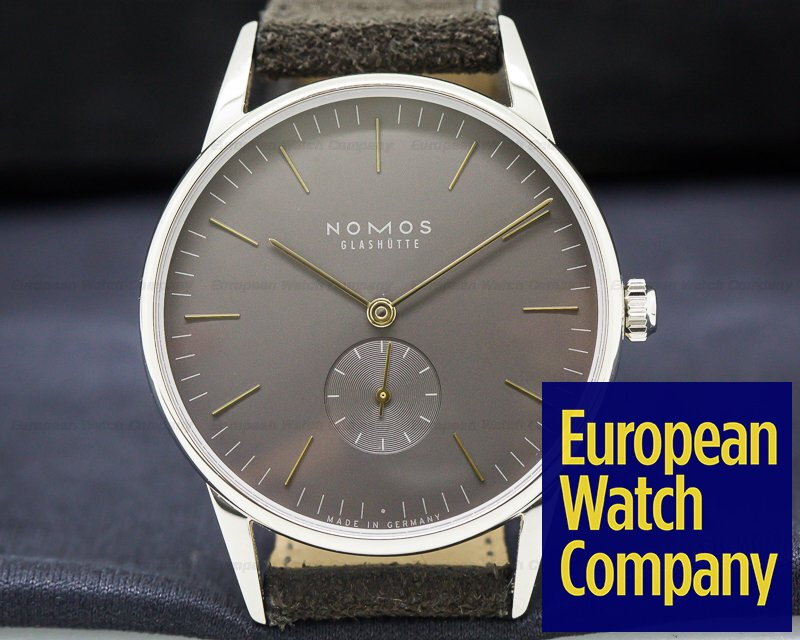 Nomos 1989 Orion Datum SS Manual Wind 38MM UNWORN