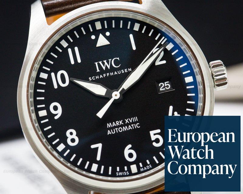 IWC IW327001 Mark XVIII Black Dial SS