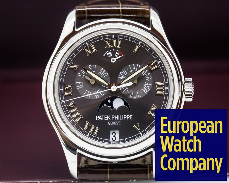 Patek Philippe 5056P Annual Calendar Power Reserve Grey Dial Platinum