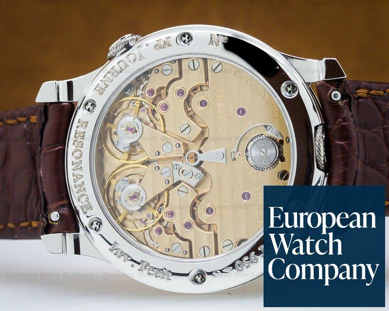 F. P. Journe Chronometre Resonance Platinum Silver Dial 40MM