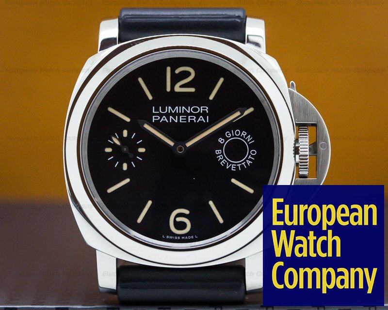 Panerai PAM00590 Luminor Marina 8 Days Acciaio