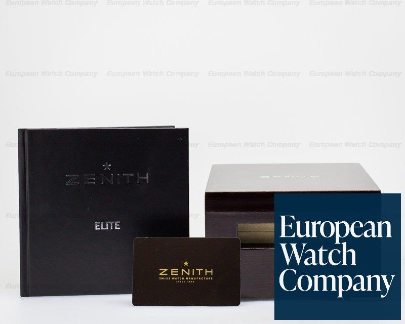 Zenith 65.2120.685/91.C493 Captain Power Reserve 18K WG Grey Dial 40MM