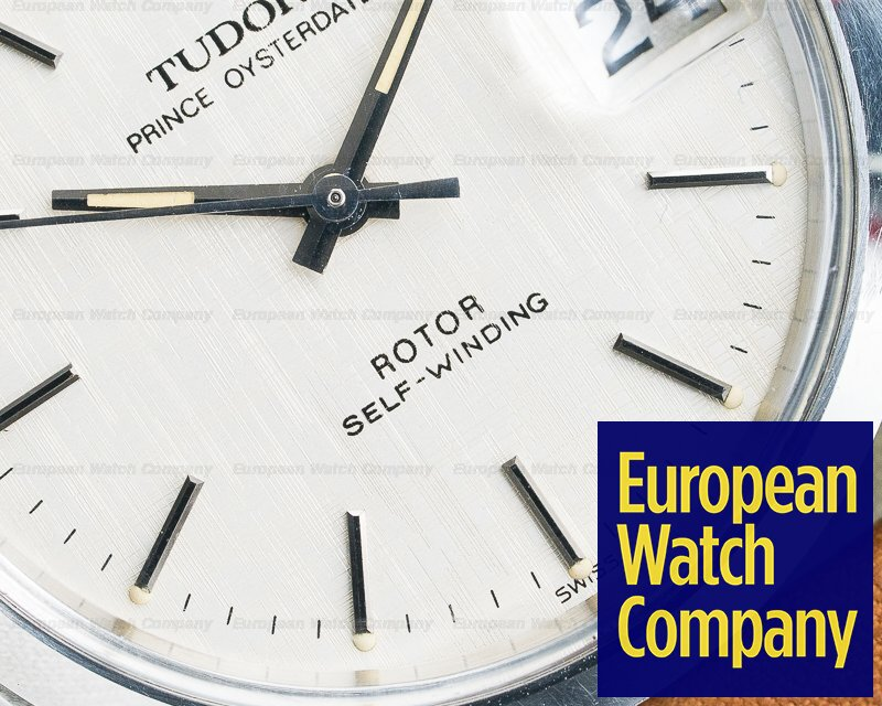 Tudor 74000 Oyster Prince White Linen Dial Automatic 34MM