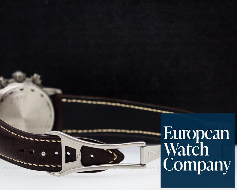 Blancpain 2185F-1230A-63B Leman Flyback Chronograph Titanium / Black Dial