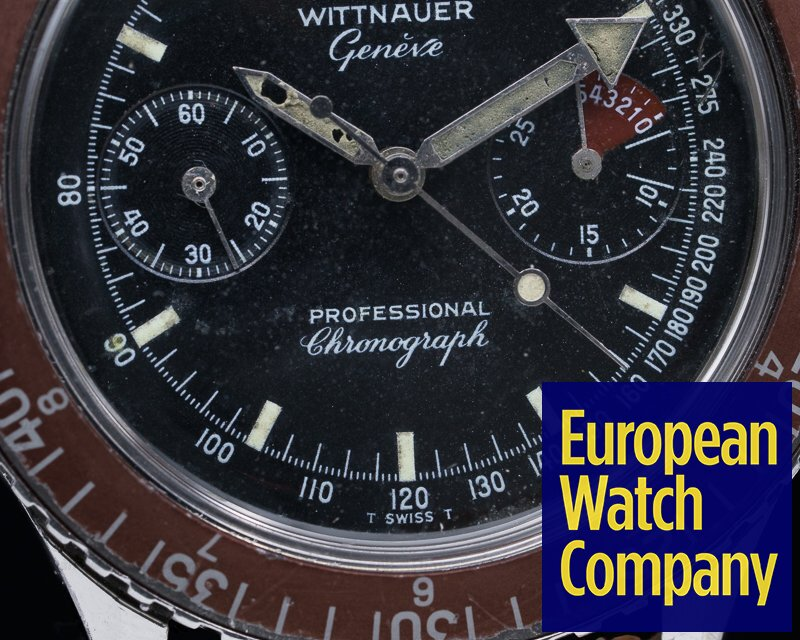 Wittnauer 7004A Vintage Professional Chronograph SS / SS
