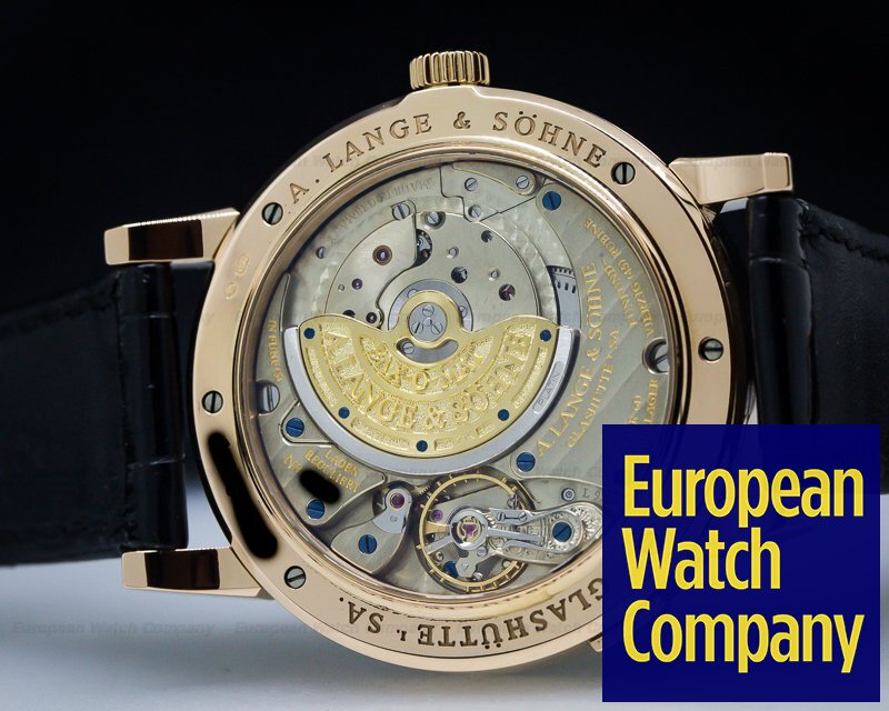 A. Lange and Sohne 309.031 Grand Langematik Date Rose Gold