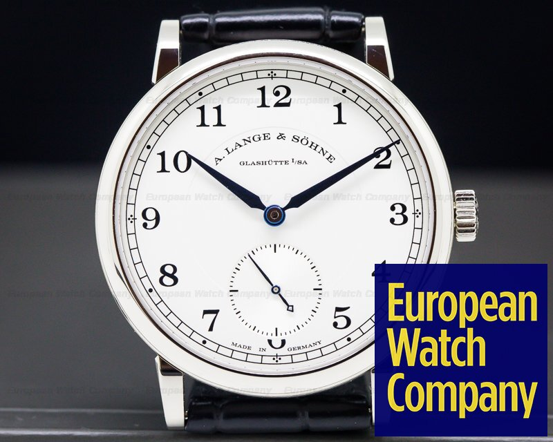 A. Lange and Sohne 235.026 1815 18K White Gold Silver Dial UNWORN