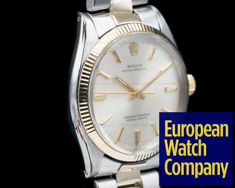 Rolex 1005 Oyster Perpetual 2 Tone Oyster Bracelet