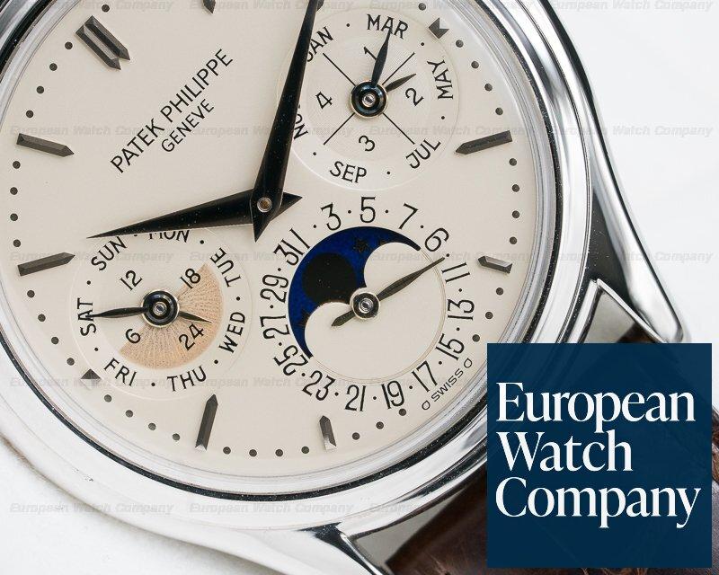 Patek Philippe 3940P Perpetual Calendar Platinum EARLY MODEL + EXCELLENT CONDITION