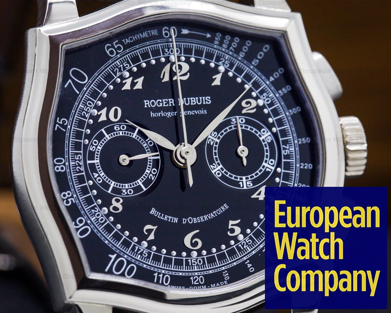 Roger Dubuis S37.56.0.9.4 S37 Sympathie 18K White Gold Chronograph