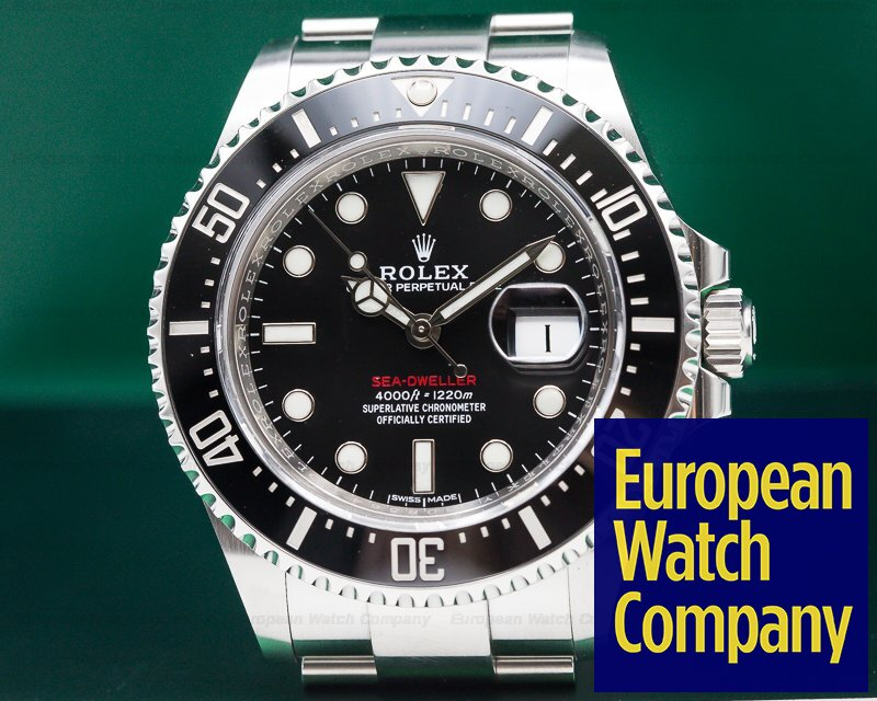 Instant Ocean 50th Anniversary : Rolex sea dweller red mm th anniversary ss