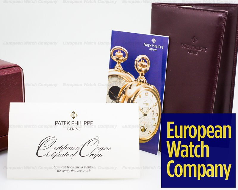 Patek Philippe 5050G-001 Retrograde Perpetual Calendar 18K White Gold UNPOLISHED