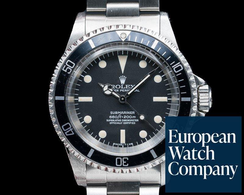 Rolex 5512 Vintage 5512 Submariner MkII MATTE MAXI DIAL