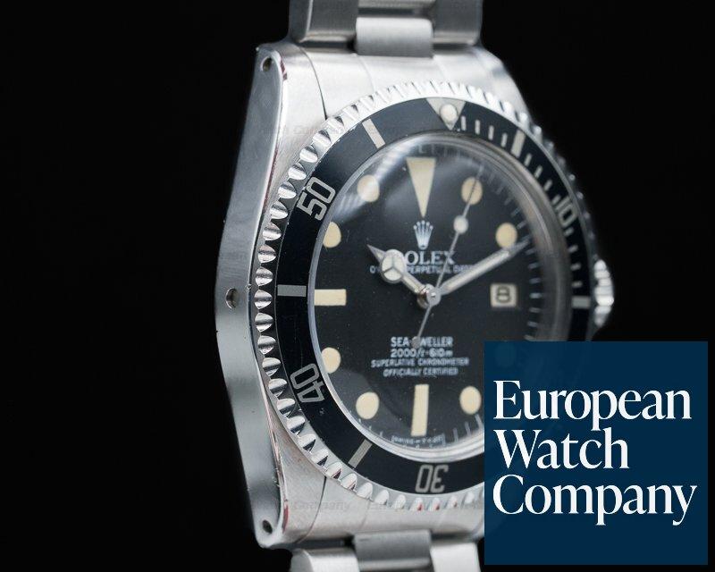 Rolex 1665 Vintage Sea Dweller FULL SET WOW
