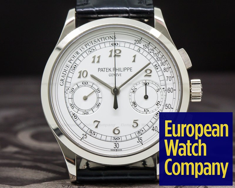 Patek Philippe 5170G-001 Chronograph 18K White Gold / Silver Pulsation