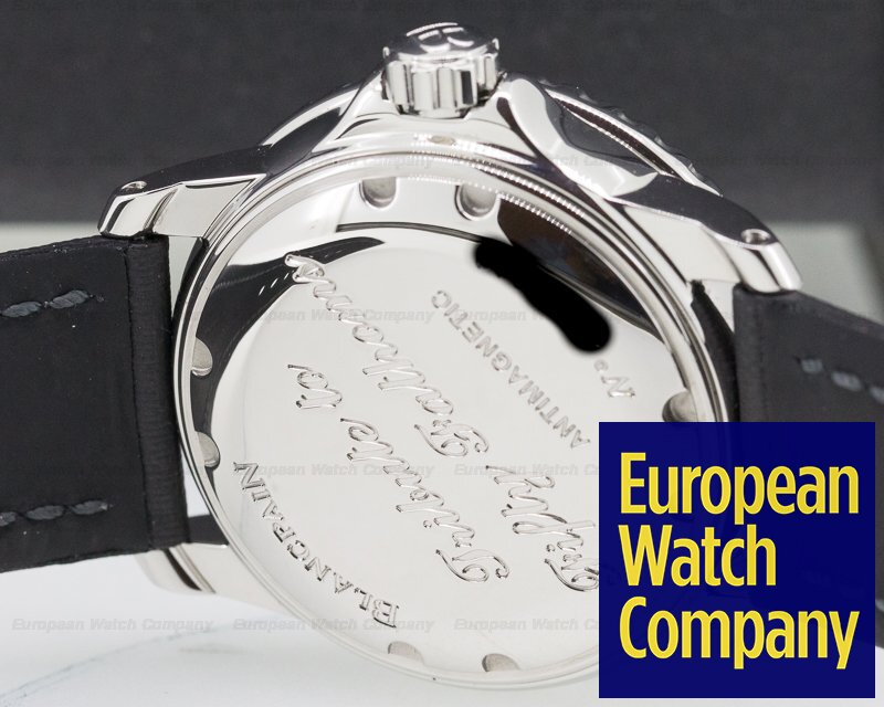 """Blancpain 5015B-1130-52A Fifty Fathoms """"No Radiations"""" SS Limited"""