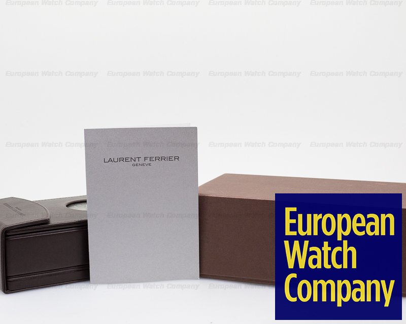 Laurent Ferrier FBN229.01 Galet Square Motorsport for Fourtane Jewelers SS Blue Dial LIMITED