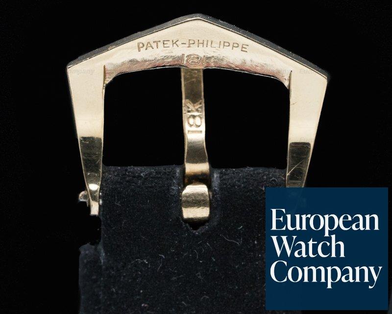 Patek Philippe 3520J Calatrava 18K Yellow Gold Manual Wind Silver Roman Dial