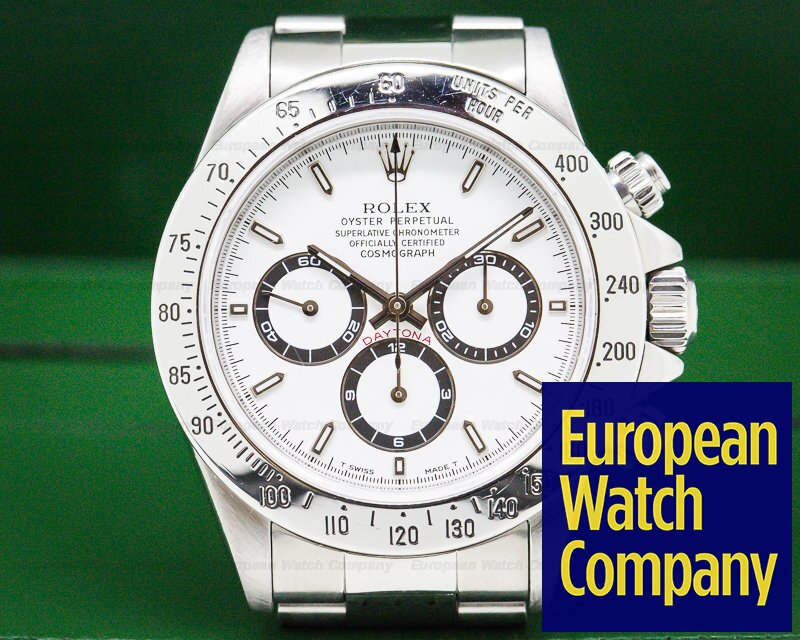 Rolex 16520 Daytona SS White Dial Zenith Movement T Series