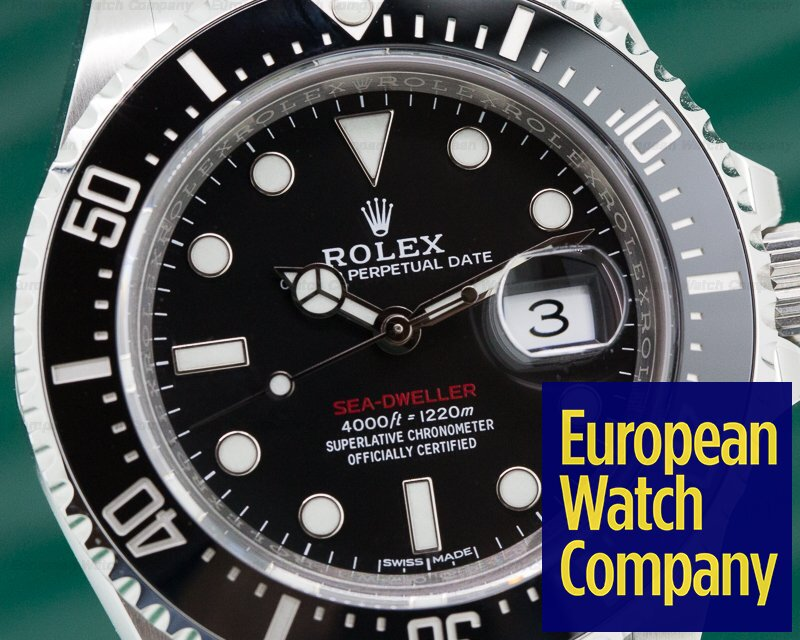 Rolex 126600 Sea Dweller RED 43MM 50th Anniversary SS UNWORN