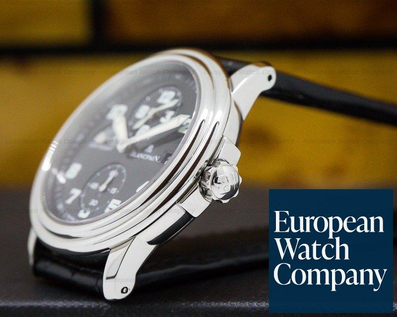 Blancpain 2160-1130M-53 Leman Timezone Military Dial SS