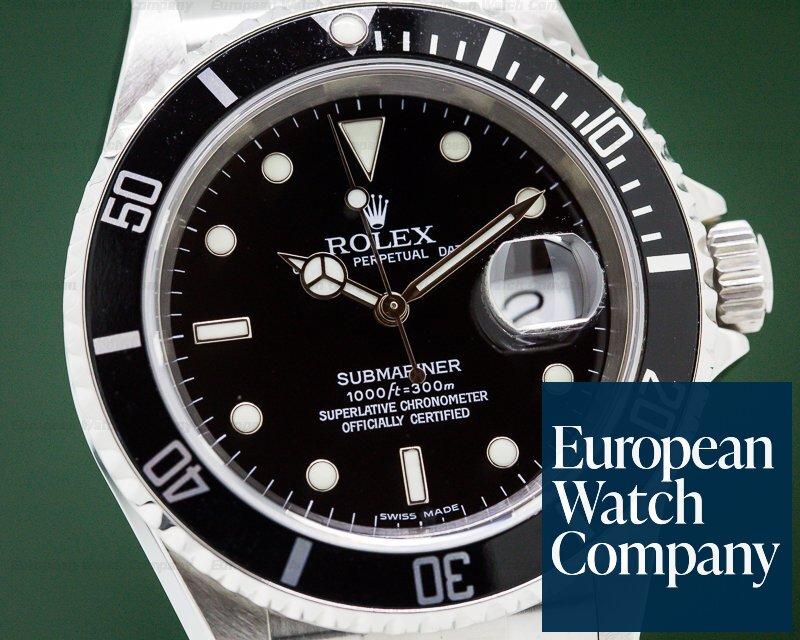 Rolex 16610 Submariner Date SS