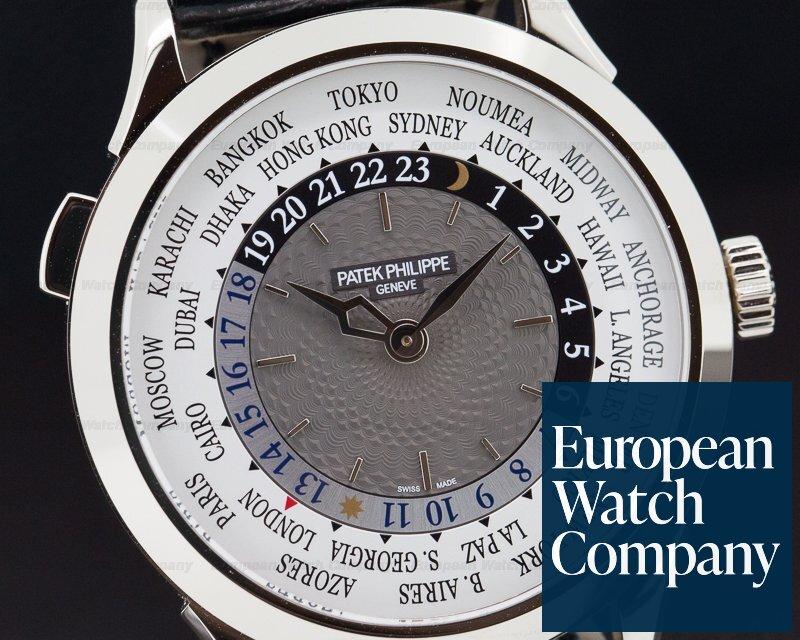 Patek Philippe 5230G-001 World Time White Gold UNWORN