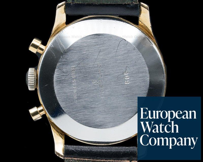 Breitling 806 Rare Vintage Breitling AOPA Navitimer GILT DIAL NICE